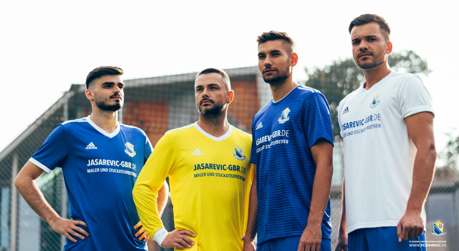 Offizielle Trikots der 1. und 2. Mannschaft - Jasarevic GbR - adidas