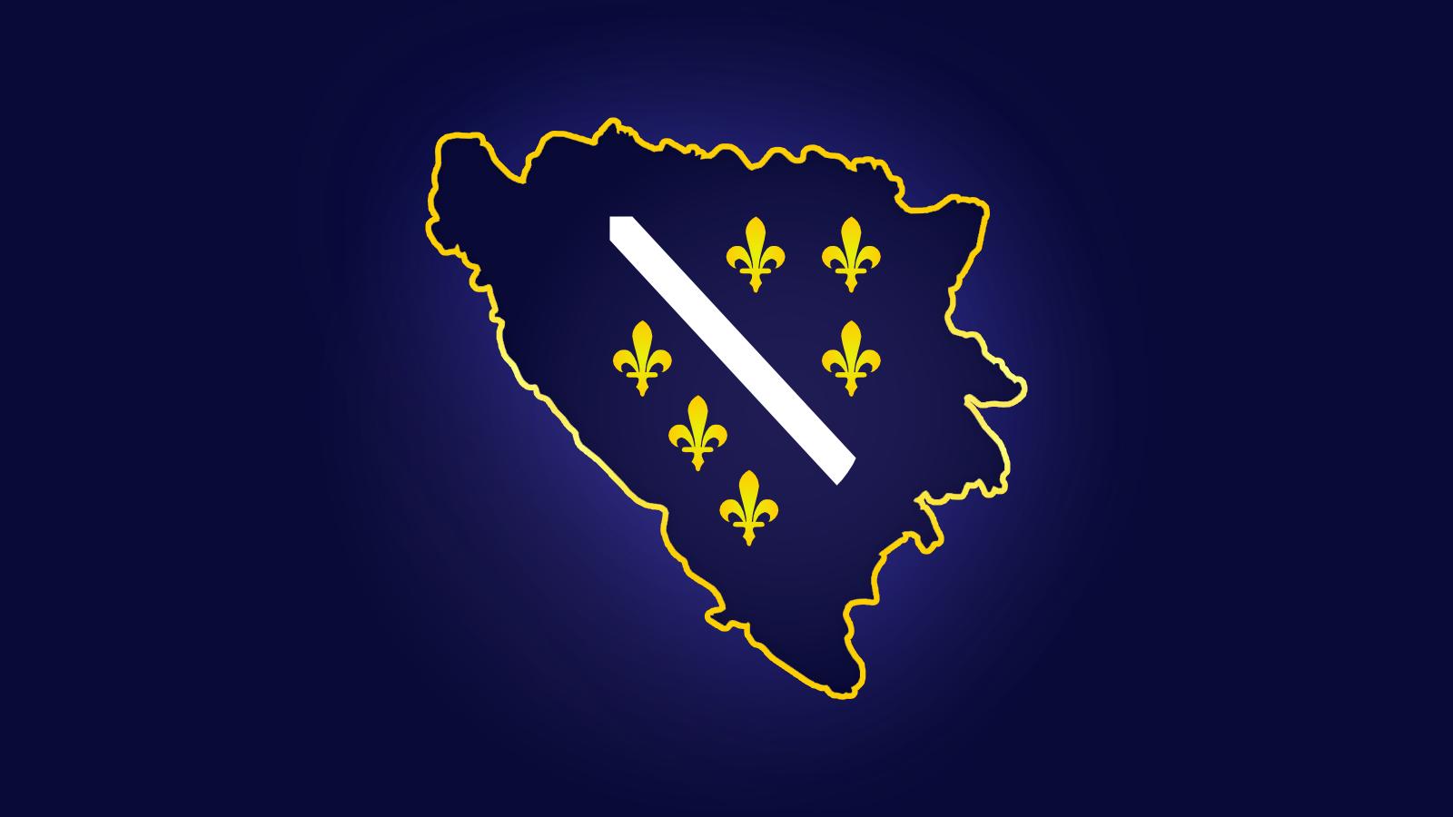 Granice Bosne i Hercegovine - Grb Bosne i Hercegovine